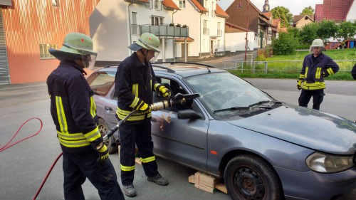 Technische Hilfeleistung Verkehrsunfall 2016