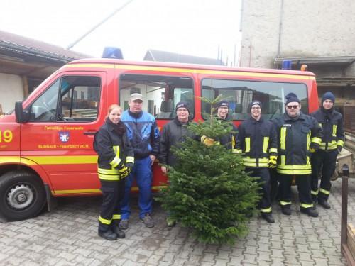 Weihnachtsbaumabfuhr 2016